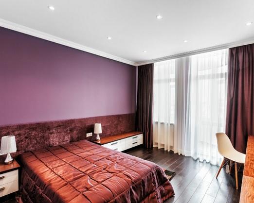 Натяжные потолки для спальни 22 кв.м.