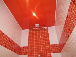 Натяжные потолки для туалета 1.5 кв.м.
